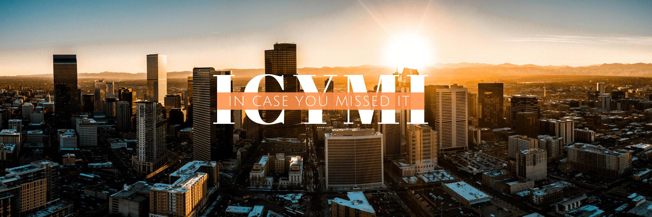 Skyline picture of Denver