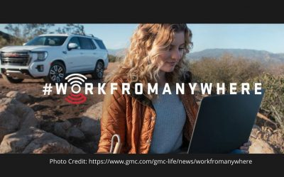 """GMC's """"Work from Anywhere"""" 2021"""