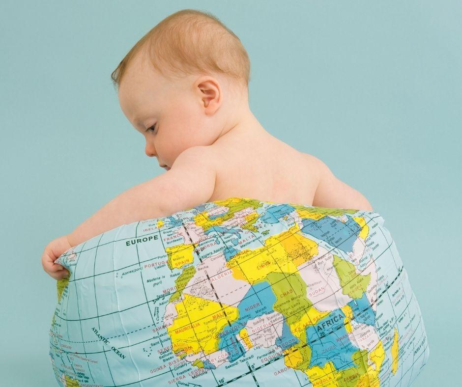 baby on earth